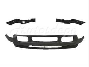 Front Bumper Filler Upper Lower Valance Air Dam 4pc For F250 F350 F450 2001 2004