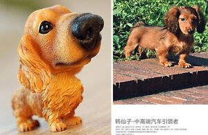 Bobble Head Bobblehead Dachshund Dog Toy Doll Car Dash Decor Christmas Gift Us
