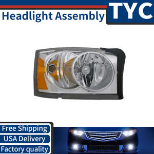 Tyc 1x Front Right Headlight Assembly Replacement New For 2006 2007 Dodge Dakota