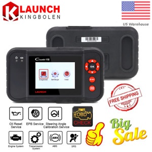 Launch X431 Car Diagnostic Tool Obdii Code Reader Abs Srs Scanner As Crp129