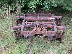 Disk Harrow 3 point Hitch 6 5 Foot Disc Plow Good Condition Used