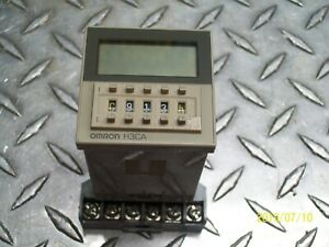 Omron Timer H3ca a With Socket Base 8501 Nr61