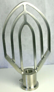 Custom 40 Quart Stainless Paddle Beater For Hobart Legacy 60 Qt Mixer 600 662