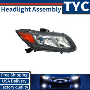 Tyc 1x Front Right Headlight Headlamp Assembly Replacement For 2012 Honda Civic