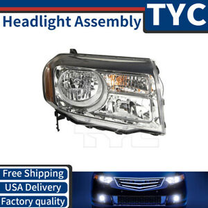 Tyc 1x Front Right Headlight Lamp Assembly Replacement For 2013 2014 Honda Pilot