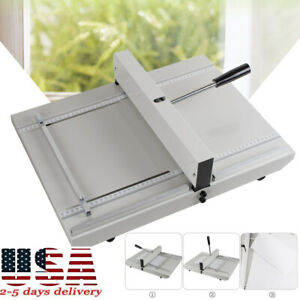 Manual Paper Creaser Creasing Machine 350mm A4 Card Covers High Gloss Cover 2019