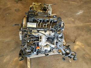 2012 2014 Volkswagen Jetta 2 0l Turbo Diesel Engine Assembly Dropout Motor Oem