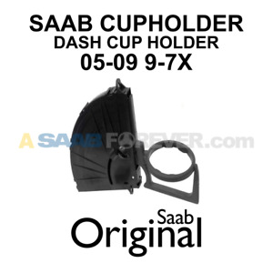 New Genuine Saab 9 7x Cup Holder 2005 2009 Oem Saab 97x Cupholder 25916574
