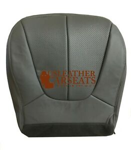 2000 Ford Expedition Xlt Sport Utility 4dr Driver Bottom Leather Seat Cover Gray