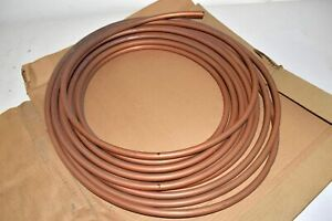New Parker Bowman 850403 Copper Tubing 1 2 50ft Coil Seamless Annealed