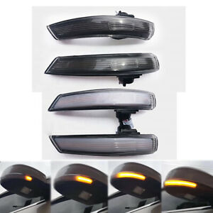 Dynamic Door Wing Mirror Led Indicator Turn Signal Light For Ford Focus 2 Mondeo