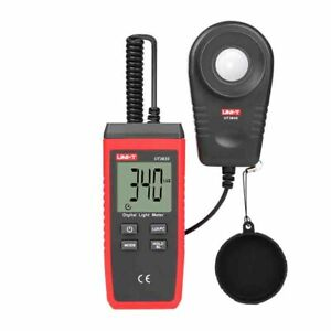 Uni t Ut383s Light Meter 200 000 Lux Digital Luxmeter Luminance Lux Fc Test Max
