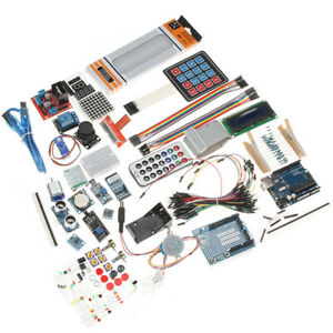 Uno R3 Starter Kit With Servo Lcd Compass Gyro Breadboard For Arduino