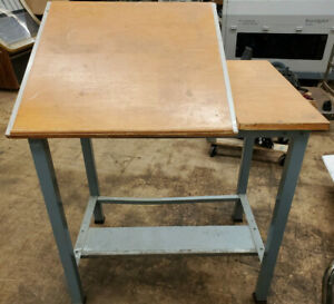 Hamilton Industrial Drafting Table Working Bench 40 X 28