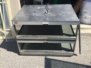 Hatco Countertop Display Good Warmer With 2 Slanted Shelves Grsds 36d