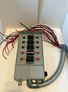 Reliance Protran Generator Transfer Switch 30 Amps 31410b 10 Circuit 30a