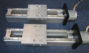 Swiss Made X y z Axis Linear Stage Slide Kit 7 Travel Solid Alf Or Mill router