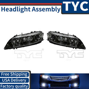 Tyc 2x Left Right Headlight Headlamp Assembly Replacement For 2003 2005 Mazda 6