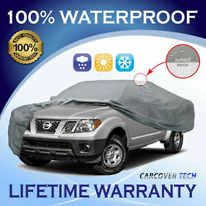 100 Weatherproof Full Pickup Truck Cover For Nissan Frontier 2000 2019