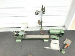 Schaublin 102 Lathe Watchmakers Jewelers From Bolivia Watch Co Not Complete