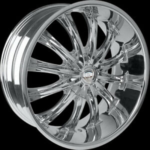 26 Inch Borghini B15 Wheels Tires Fit Ford Lincoln Chevy Gmc Cadillac Nissan