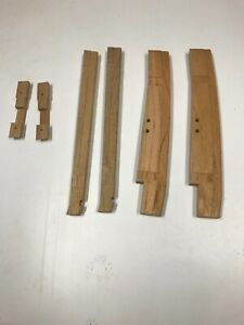 Ford Model A 1930 31 Closed Cab Pickup Wood Post And Door Latch Kit 6 Pieces