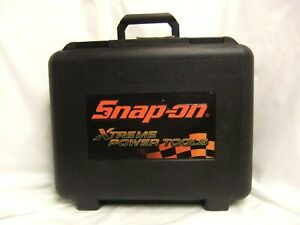 Snap On Pb127b Xtreme Power Tools Case Holds 1 2 Tools Battery Charger
