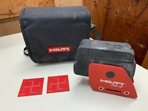 Hilti Pml 32 Laser Level W Stow Pouch Fresh Batteries tested Working