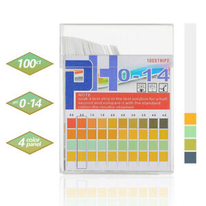 Ph Indicator Test Strips 1 14 Paper Litmus Tester Laboratory Urine