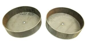 63 87 Chevy C30 Front Air Ride Suspension Lower Bracket Cups For Deep Drop Bags