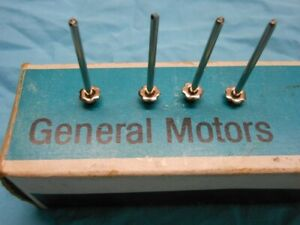 General Purpose Gm Rosette Rivets Chevy Camaro Gto Olds 1967 1968 1969 Nos