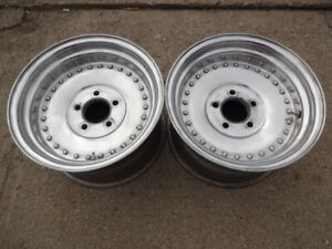 2 15x8 5 Centerline Auto Drag Racing Wheels Chevy 5x4 75