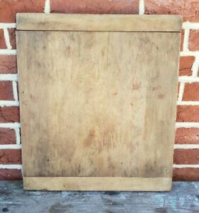 Antique Pa Dough Wooden Treen Cutting Bread Board Ends Smaller Size