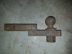 Trailer Hitch 2 Ball 1 Drop Fits 1 1 4 Inch Receiver