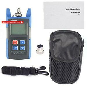 J deal Tl510c Portable Optical Fiber Power Meter Tester Measure 50 26 Dbm