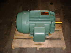 30 Hp Reliance Duty Master Electrical Motor Frame 256t P28f312 20404 bpr3