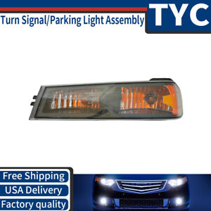 Tyc 1x Front Left Turn Signal Parking Light Assembly For 2004 2011 Colorado