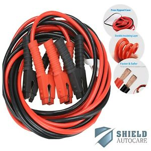 Jump Leads Starter Battery Booster Cables 800amp 6m 20ft Long Heavy Duty