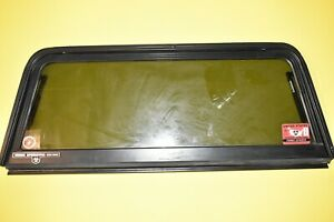89 Geo Tracker Window Glass Hardtop Rear Door Tailgate Oem