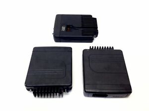 Lot Of 3 Motorola Mcs2000 Flashport Radio 2 way Dashmount Tranceiver Only