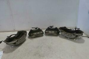 2011 2016 Porsche Cayenne Front Rear Caliper Set S Model Silver Painted Oem