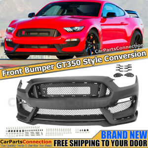 Front Bumper For Ford Mustang 2015 2017 Front Bumper Conversion Kit Gt350 Style
