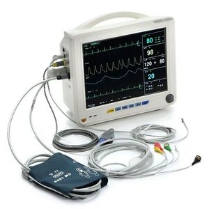 12in Tft Color Ccu Icu Patient Monitor Vital Signs Monitor 6 Parameters fda Usa