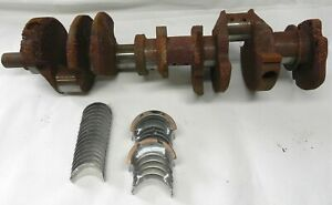 1965 1985 Chevrolet 350 Cubic Inch Standard Crankshaft With New Bearings 12390