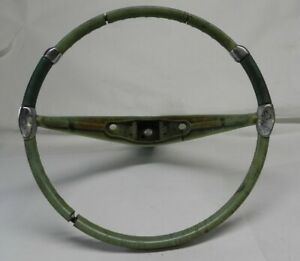 Vintage 1957 1958 59 Chrysler Imperial Steering Wheel Color Green Classic