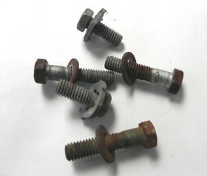 1967 68 69 70 71 Jeepster Commando Front Windsheld Frame Mountng Fasteners Bolts