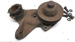 1937 38 39 40 48 Ford Flathead Water Pump Core Left W Orig Bolts Ford 78 8506
