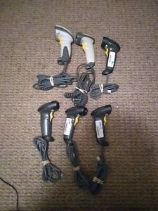 6 Symbol Ls2208 sr20007r ur And Other Handheld Barcode Scanner With Usb Used