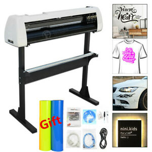 28 Vinyl Cutter Plotter Kit Decals Sign Cutting Machine Design cut Software