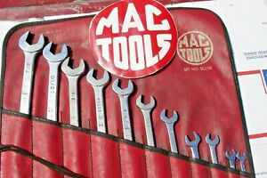 Mac Tools Combination Wrench Set 11pc Read